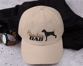German Shorthaired Pointer  Dad hat,- Low Profile Hat - Dad Cap - Cute Baseball Cap