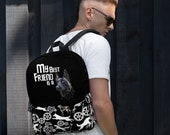 Custom Belgian malinois Backpack, malinois lover gift