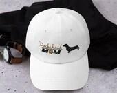 Dachshund baseball hat  Dachshund Hat, Dachshund Gift, Dog Gift, Dog Hat, Dachshund baseball cap