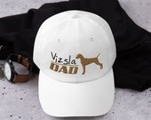 Hunting dog Dad hat, Baseball Hat, Trucker Cap, Vizsla cap for Girl, hunting gift for men