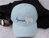 Great pyrenees Dad hat
