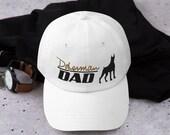 Doberman dog lover Dad hat