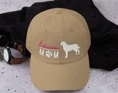 Retriever mom  baseball hat - retriever lover cap