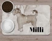 Custom doodle Pet Placemats, Dooodle decoration,