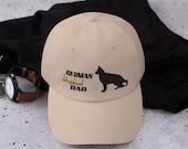 German shepherd Dad hat - german shepherd lover men