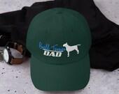 Bull terrier lover Dad hat