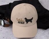 Golden retriever Baseball Dad hat