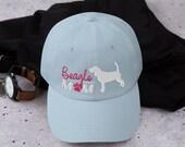 Beagle mom Baseball hat