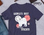Samoyed mom Short-Sleeve Unisex T-Shirt