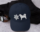 Alaskan malamute Dad hat - gift for all malamute lover or husky lover