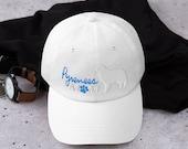 Great pyrenees mom Basebal Dad hat