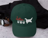 Setter mom Baseball cap - English setter- Irish setter gordon setter - red and white setter Dad hat