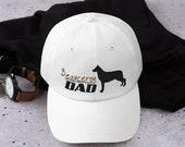 Beauceron Dad hat, working dog lover men
