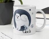 Personalized Samoyed dad, Samoyed Gift, Samoyed Gift For men, Samoyed Mug, Samoyed Gift Idea,