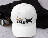 Setter Dad hat - Setter lover men - English setter- Hunter gift - Irish setter-Gordon setter