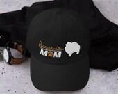 Pomeranian mom baseball hat
