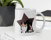 Custom Australian shepherd Mug, It's not Aussie hair it's aussie spice mug, Cute gift for aussie mom and aussie dad