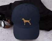Bluetick coonhound hat, baseball bluetic dog hat