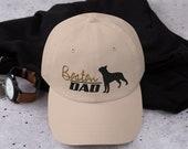 Boston terrier Dad hat