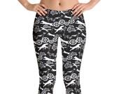 Belgian malinois Leggings , women leggins, dog pattern joga leggings, fitness dog leggings,