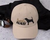 Beagle Dad hat- adjustable cap