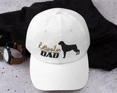 Rottweiler Baseball Dad hat