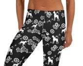 Boxer dog Leggings. dog mom gift idea, boxer lover leggings