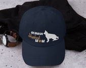 German shepherd mom baseball hat , shepherd dog Dad hat