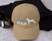 Weimaraner Baseball hat - dog father gifts - Embroidered Men Women Mom Dad Baseball Cap