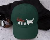 Setter mom Baseball cap - English setter- Irish setter gordon setter - red and white setter Dad hat