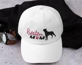 Boston terrier baseball hat