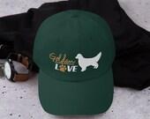 Golden retriever lover Dad hat