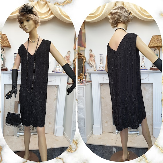 1920's Downton Abbey Formal Evening Dress