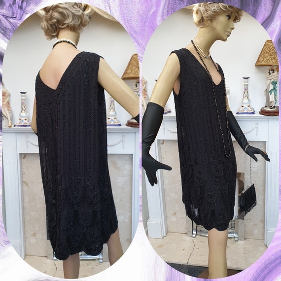 1920's Downton Abbey Formal Evening Dress - image 3
