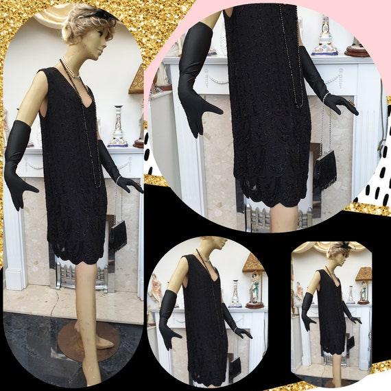 1920's Downton Abbey Formal Evening Dress - image 8