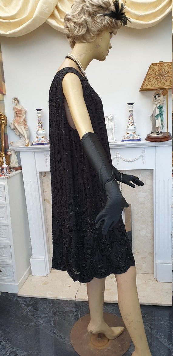 1920's Downton Abbey Formal Evening Dress - image 2