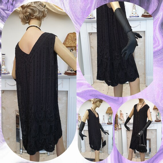 1920's Downton Abbey Formal Evening Dress - image 5