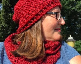 Pebble Road Beanie Beginner Crochet Pattern, Easy Beanie Crochet Pattern, Beginner Crochet Pattern