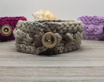 Easy Bracelet Crochet Pattern, Beginner Crochet Pattern, Easy Cuff Crochet Pattern, Easy Anklet Crochet Pattern