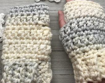 Cozy Fingerless Gloves Crochet Pattern, Beginner Crochet Pattern, Arm Warmers Crochet Pattern, Fingerless Mittens Crochet Pattern