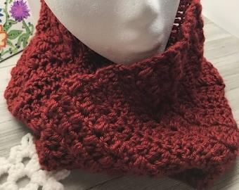 Beginner Infinity Scarf Crochet Pattern, Pebble Road Infinity Scarf Crochet Pattern