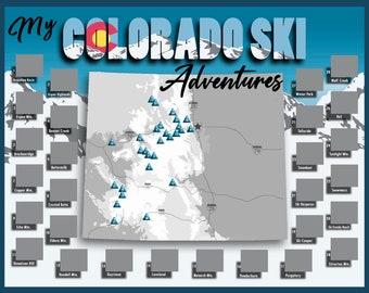 Digital colorado map   Etsy