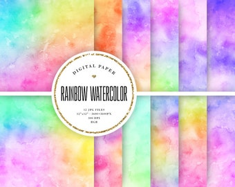 Artistic Background Watercolor Digital Paper Modern Abstract Background Free Commercial Use Scrapbooking Texture Paper Instant Download