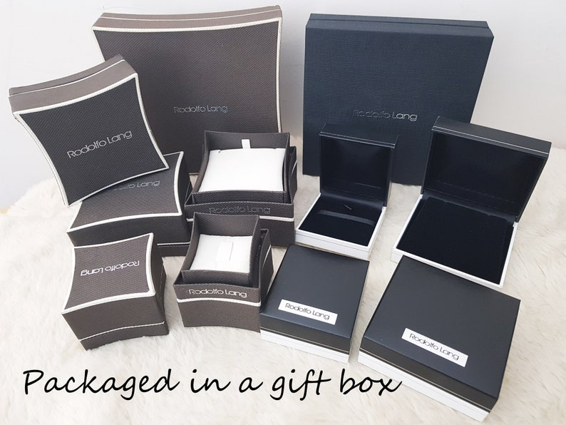 Necklace for Women Large Initial Necklace Large Letter in Silver With Gift Box Gifts For Woman Personalized S. UK Handmade