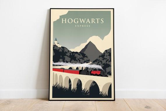 Poster Hogwarts – Poster vintage