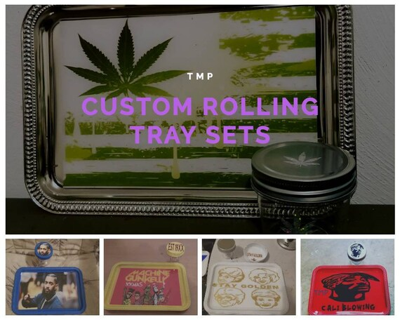 Custom Rolling Tray Sets