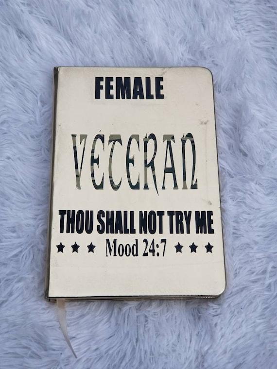 Female Veterans Stance Track.Plan and List Journal