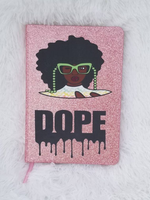 Dripping in Dopeness.    Track.Plan and List Journal