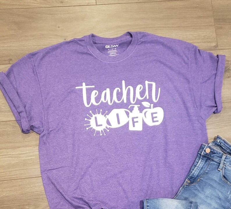 Teacher life 2020 tee Teaching during a pandemic shirt Pandemic tee Corona virus Gift for teacher Teacher life t-shirt