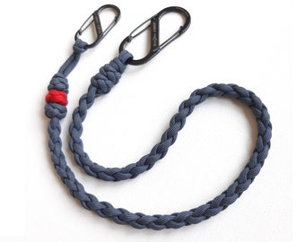 Paracord Rope Pants Chain Lanyard Cord Band Strap Strap S-Biner Handy Against Thief Safe Case Protection Case Women/'s Men/'s Child Unisex